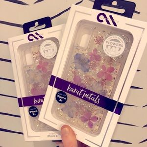 Casemate iPhone X/Xs Karat Petals real pressed